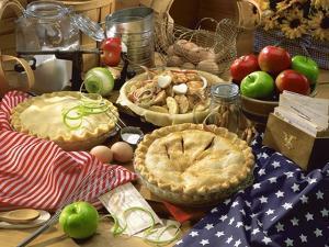 Baking pies by Gaetano