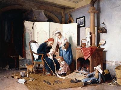 The Veteran, 1878 by Gaetano Chierici