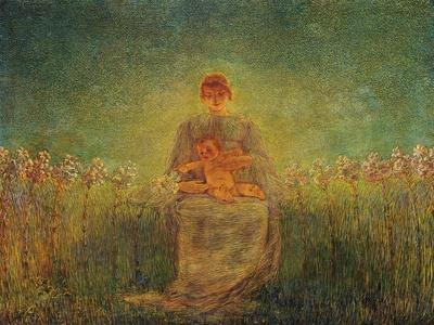 Madonna of Lilies, 1893