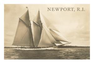 Gaff-Rigged Schooner, Newport, Rhode Island