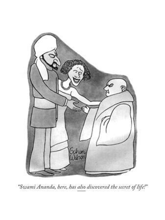 New Yorker Cartoon by Gahan Wilson
