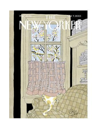 The New Yorker Cover - June 9, 2003 by Gahan Wilson
