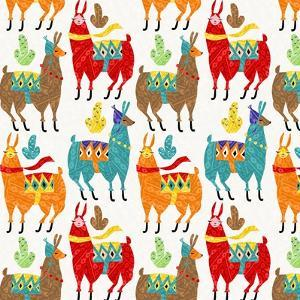 Llamas Colors by Gaia Marfurt