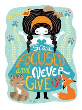 Stay Focused Doll by Gaia Marfurt