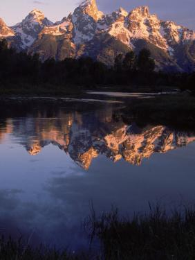 Dawn, Grand Tetons, WY by Gail Dohrmann
