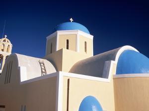 Church in Oia by Gail Mooney