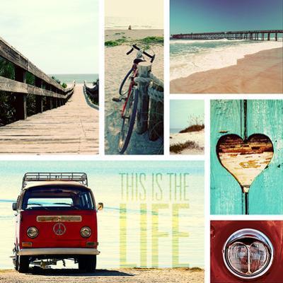 Beach Life I by Gail Peck