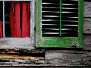 Cabin Shutters by Gail Peck