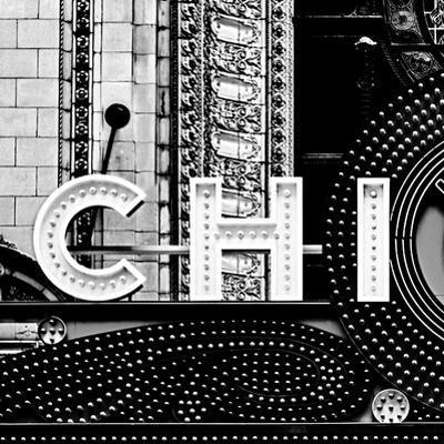 Chi B&W Sqaure by Gail Peck