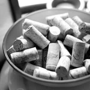 Corks I by Gail Peck