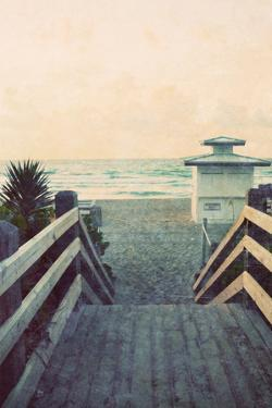 Filtered Beach Photo I by Gail Peck