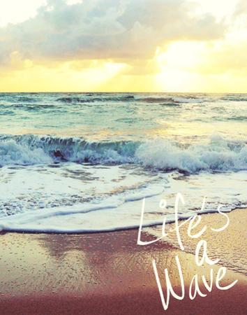 Life's a Wave by Gail Peck