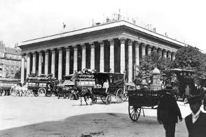The Bourse, Paris, c.1900 by Gaillard