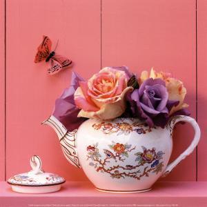 Theiere de Roses by Gaillard