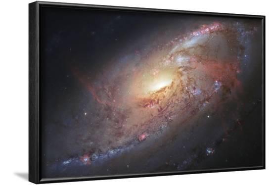 Galaxy M106--Framed Art Print