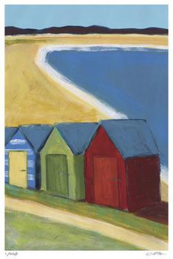 Beach Huts by Gale McKee