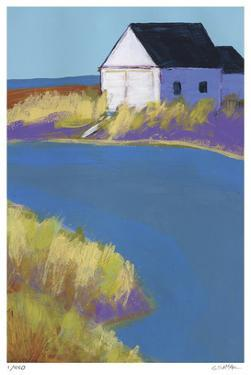 Boathouse on the Sound by Gale McKee