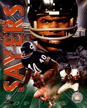 Gale Sayers - Legends Cpmposite