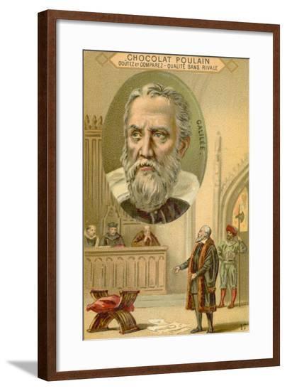 Galileo Galilei, Italian Physicist, Mathematician and Astronomer--Framed Giclee Print