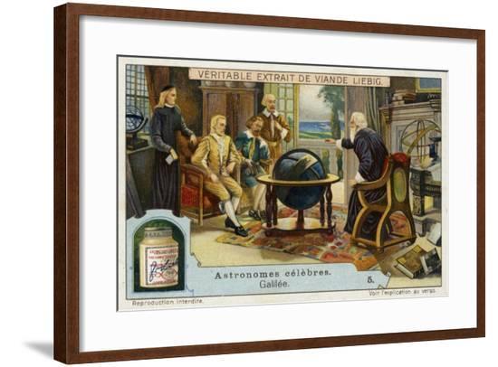 Galileo Galilei Italian Physicist, Mathematician and Astronomer--Framed Giclee Print