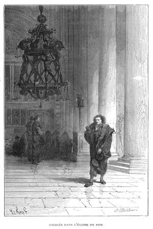 Galileo Observing the Swaying of the Chandelier in Pisa Cathedral, C1584