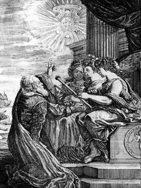 Galileo Presenting His Telescope to the Muses, 1655-56