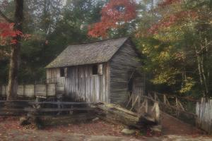 Cades Cove Grist Mill by Galloimages Online