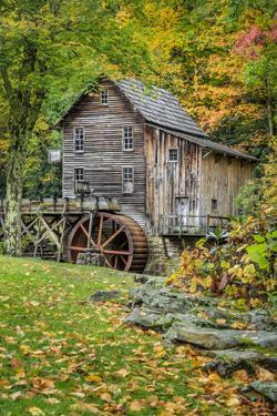 Grist Mill-Vert With Fg 1 by Galloimages Online