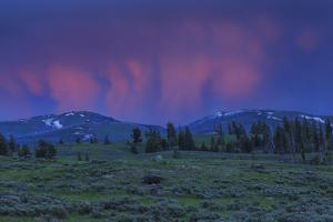 YNP Sunset by Galloimages Online