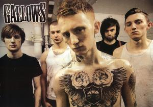 Gallows Group Music Poster Print