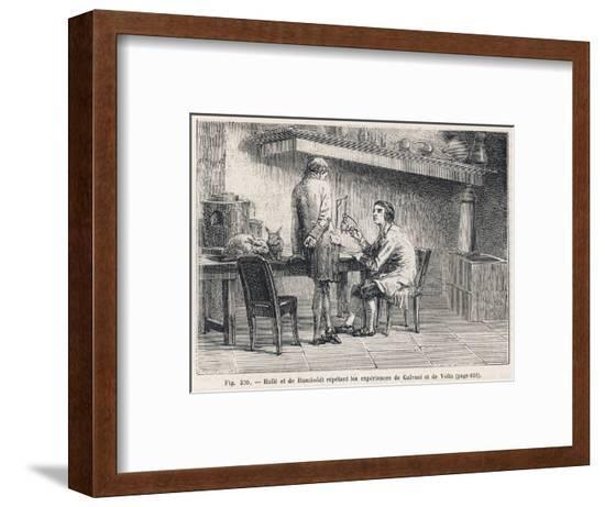 Galvani Replicated--Framed Giclee Print