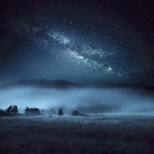 Astrophotography, Milky Way, Scotland by Galyaivanova