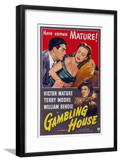 Gambling House--Framed Giclee Print