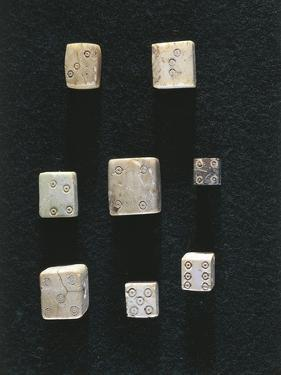 Game Objects Made from Ivory, Dice, from Volubilis