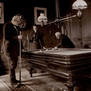 Game of Billiards, 1905
