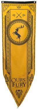 Game Of Thrones - Baratheon Tournament Banner