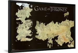 Game of Thrones Horizontal Map