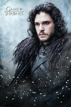 Game Of Thrones- Jon Snow In Winter