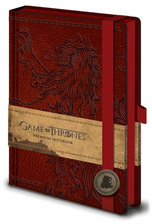 Game of Thrones - Lannister A5 Premium Notebook