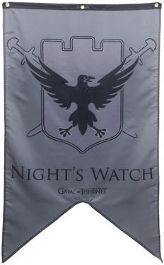 Game Of Thrones- Night's Watch Banner