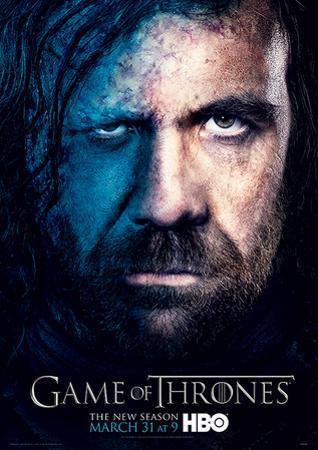 Game Of Thrones (Season 3 - Sandor) Television Poster