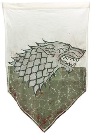 Game of Thrones- Stark Battle Distressed Banner