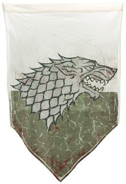 Game of Thrones- Stark Battle Distressed Banner