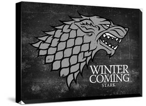 Game Of Thrones Stark Sigil Canvas Banner