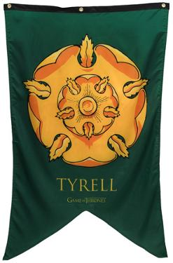 Game Of Thrones - Tyrell Banner Fabric Poster