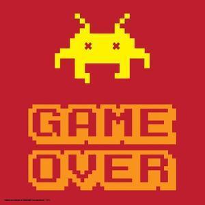 Game Over Alien Mort