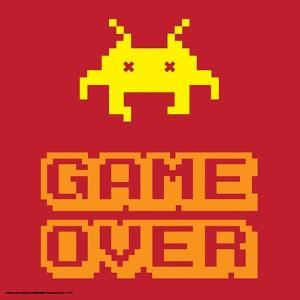 Game Over Alien Mort