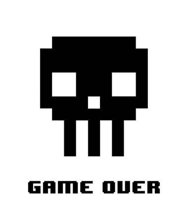 https://imgc.allpostersimages.com/img/posters/game-over-black-skull_u-L-F92LOS0.jpg?p=0