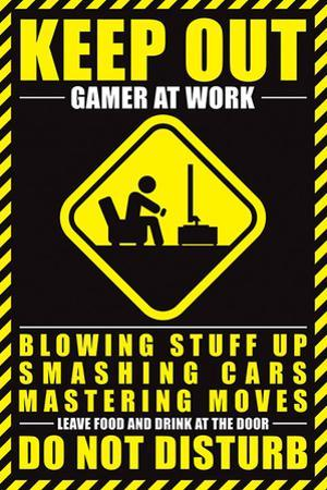 Gamer At Work