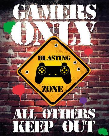 video games posters at. Black Bedroom Furniture Sets. Home Design Ideas